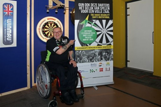 The Hague Disability Darts Invitational, uniek internationaal toernooi voor gehandicapte darters in Den Haag