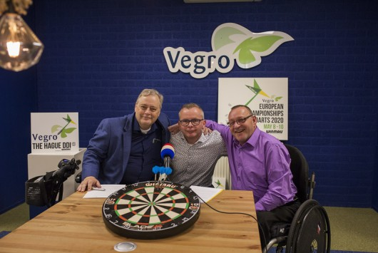 Vegro drie jaar hoofd- en naamsponsor van The Hague Disability Darts Invitational