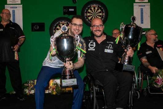 Van Velzen en D'hondt winnen Vegro The Hague Disability Darts Invitational